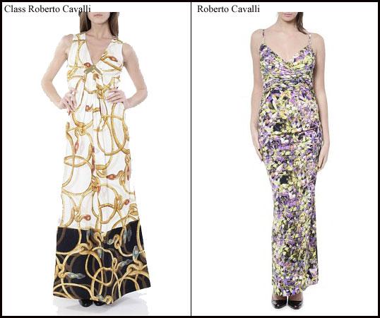 cheap for discount cc832 43b37 L'abito lungo Roberto Cavalli p/e 2010 « Moda Online – Guida ...